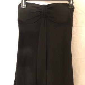 🐶5/$25 WHBM Black Strapless Dress Size 0